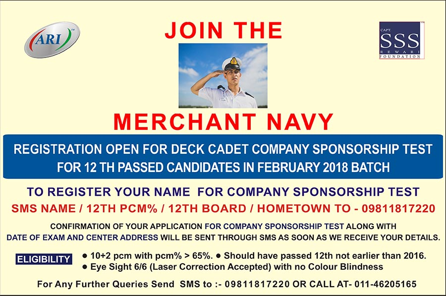 Join the Merchant Navy
